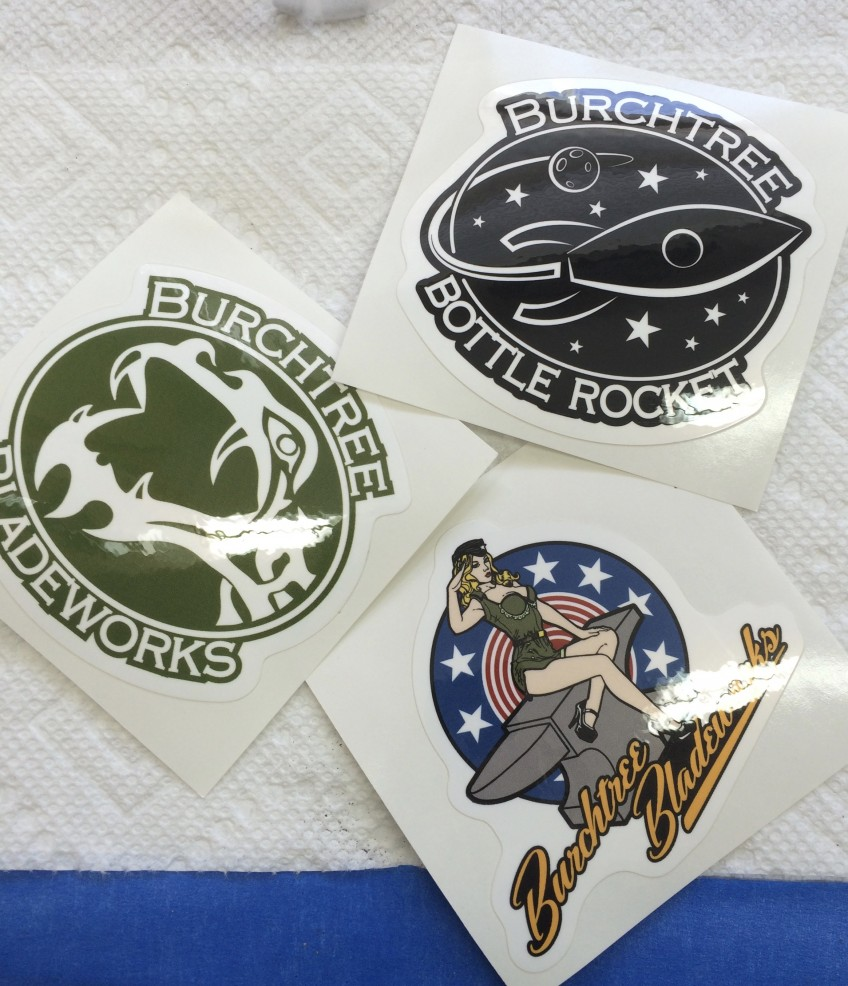 Burchtree Sticker Packs Available