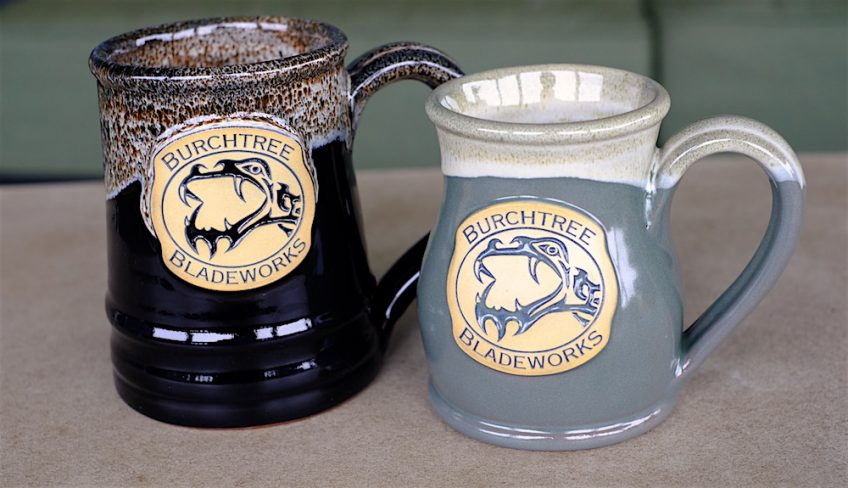 Burchtree Bladeworks Hand-Made Mugs
