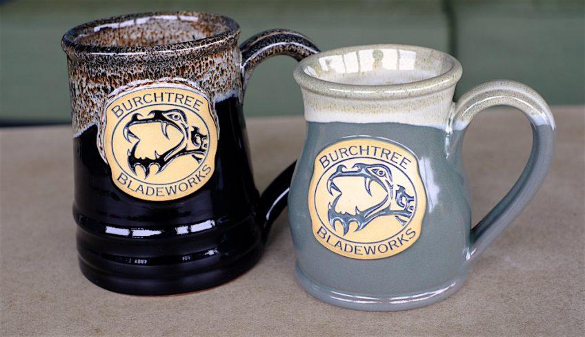 Burchtree Bladeworks Hand-Made Mugs